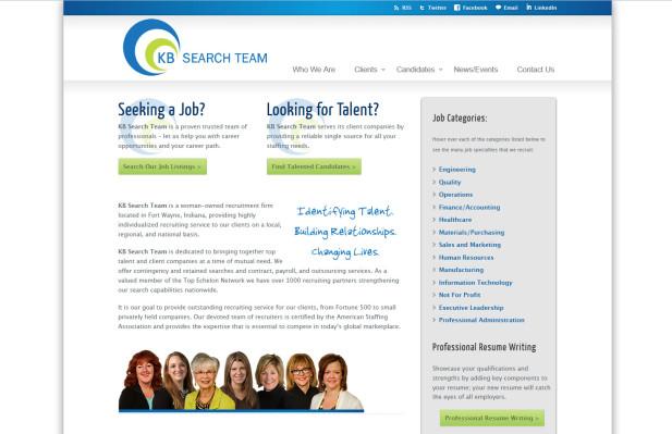 webdesign KBsearch